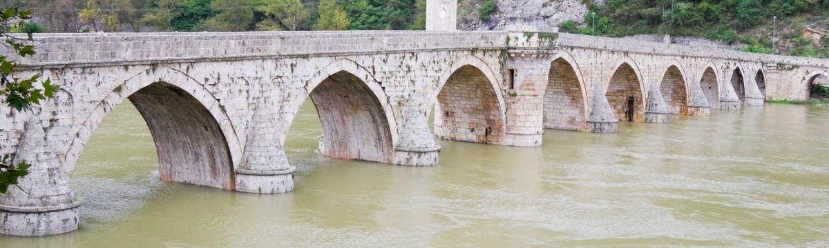 444 yıllık Drina Köprüsü