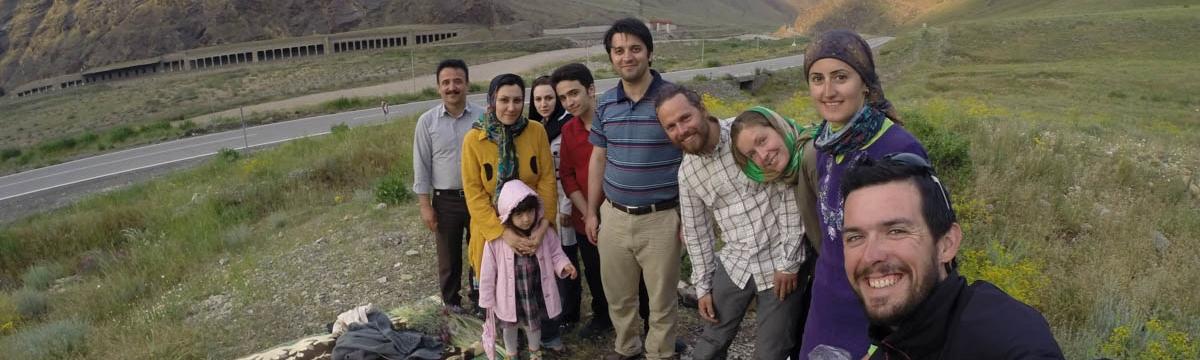 İran polisi ile sıcak temasımız