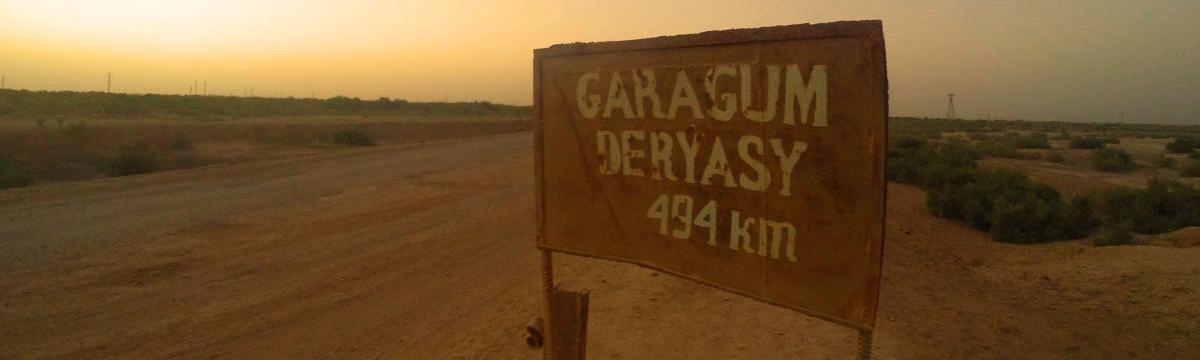 Merhaba Türkmenistan; Karakum Çölü