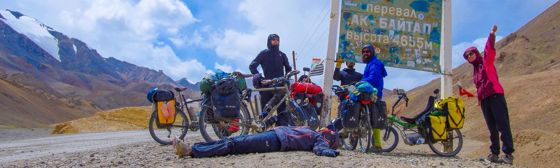 Dünyanın çatısına pedallamak; Akbaital geçidi (4655 m)