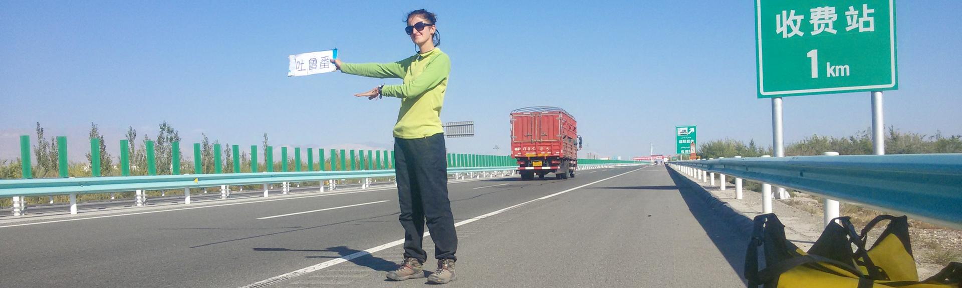 Çin'de otostop çekmek
