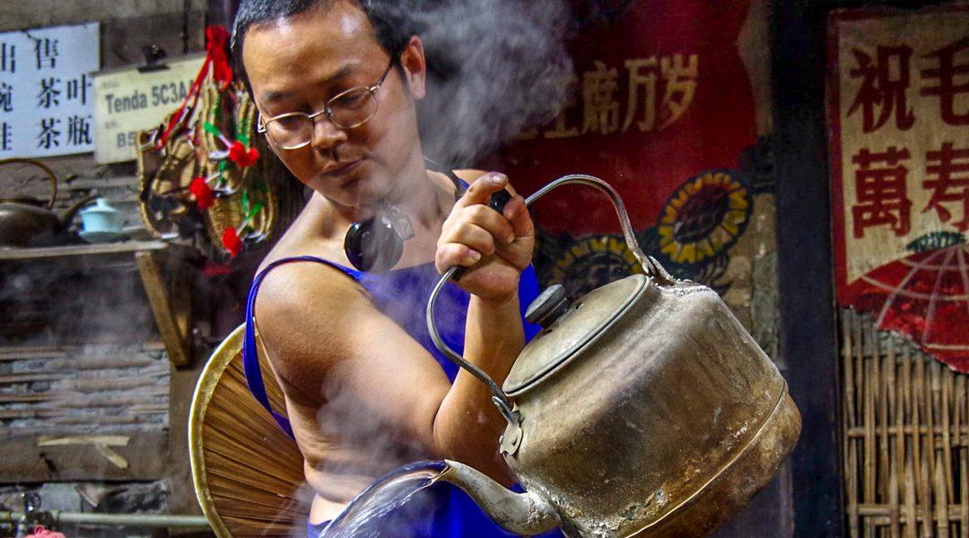 Voyage dans le temps au salon de thé de Pengzhen